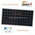 Hot-sale 200w Mono Solar Cells Panel
