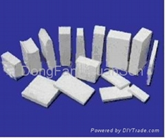 Acid proof ceramic tile