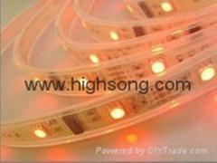 led flexible strip light SMD5050 60 leds waterproof led strips