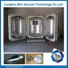 Plastic metalizing machinery