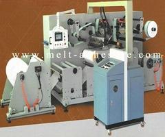 Hot Melt Glue Laminating Machine Controlled by Servo Motor