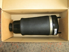 Front air spring suspension system for