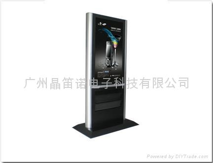 42寸资料架立式单机广告机 3