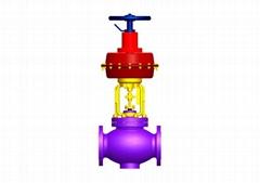 single seat control valve (globe type)