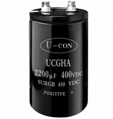 Screw Terminal Aluminum Electrolytic Capacitor