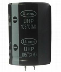 U-CON Snap-in Electrolytic Capacitor