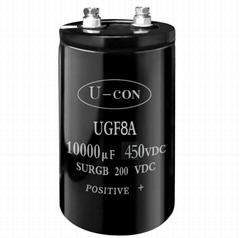 U-CON Screw terminal Aluminum Electrolytic Capacitor