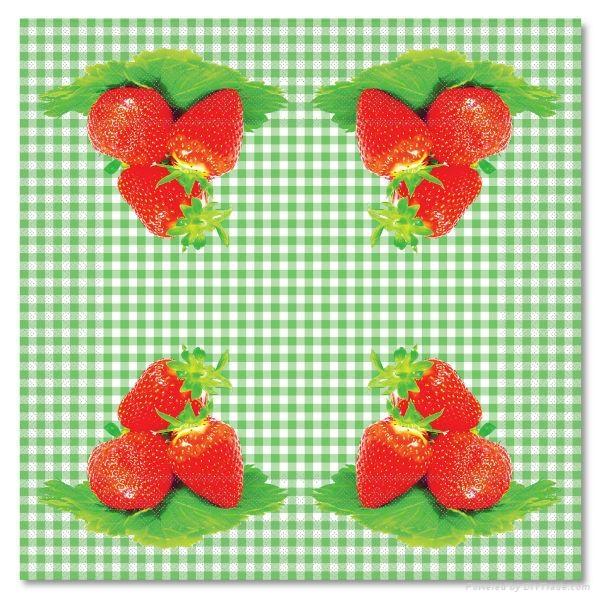 party serviette color paper printed napkin 3