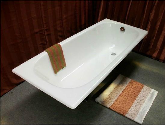 high quality build in cast iron bathtub NH-008 1