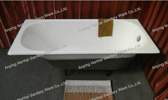 high quality build in cast iron bathtub NH-008 2