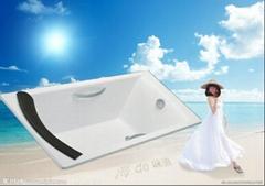 big cheap drop in cast iron bathtub NH-006-1
