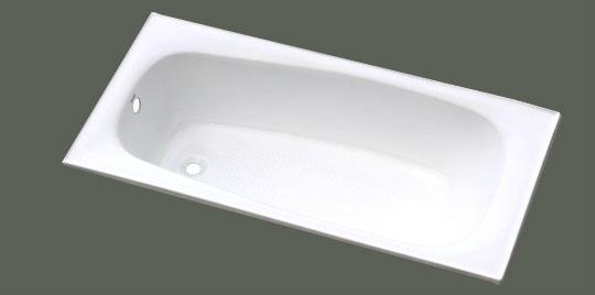 elegant build in cast iron bathtub NH-015 1