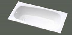 elegant build in cast iron bathtub NH-015
