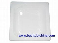 enamel cast iron shower tray NH-025