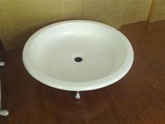 round design enamel cast iron shower tray NH-1020-Y