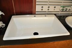 popular cast iron kitchen sinks NH-6007