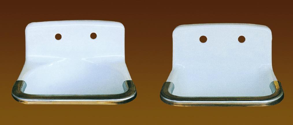 elegant enamel and cast iron kitchen sink NH-8001 2