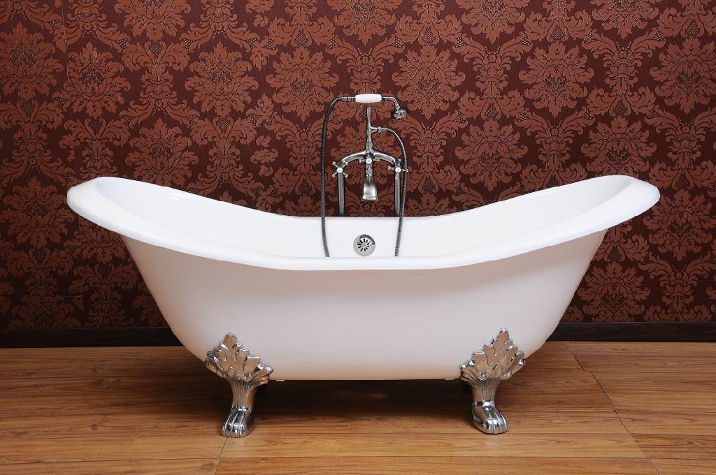 cast iron double slipper tubs NH-1005 1
