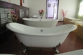 cast iron double slipper tubs NH-1005 4