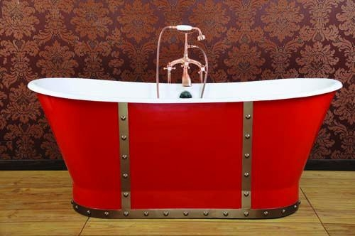 cast iron tubs with skirt NH-1008-5 1