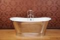 plished mirror cast iron bathtub