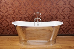 plished mirror cast iron bathtub NH-1008-8