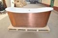 fashionable copper freestanding cast