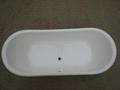 fashionable copper freestanding cast iron bathtub NH-1022-1 4