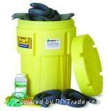 65加侖洩漏應急處理桶套裝 1361-YE吸化學品型
