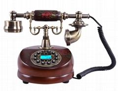 MYS Antique Telephone For Retro Home Decor Phone MS-6100B