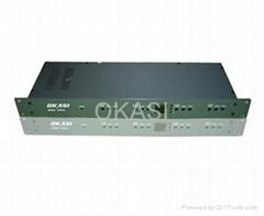 数字电视4路信号捷变频调制器