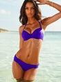 varous sizes 4 colors plain swimsuit bra set female costume apparel clothes 2