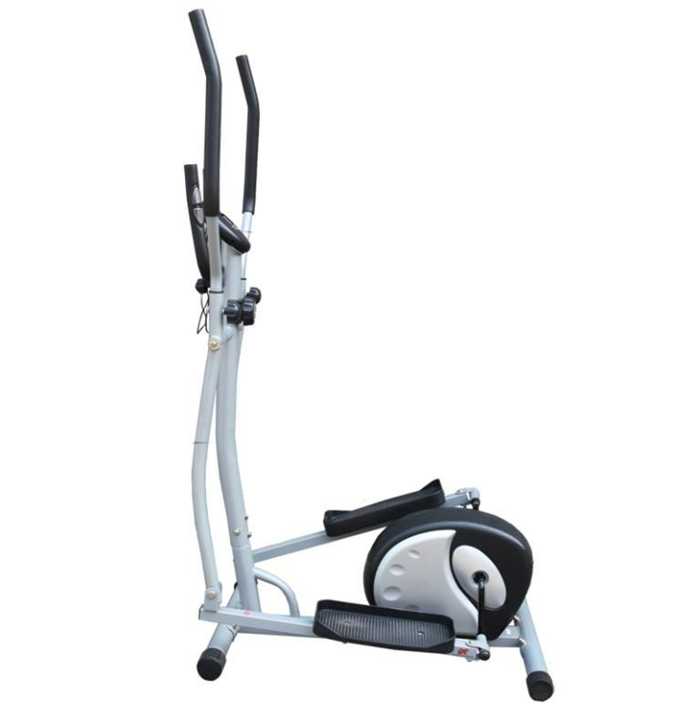 Indoor Magnetic Cardio Dual Elliptical Trainer Exercise