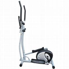 Indoor Magnetic Cardio Dual Elliptical Trainer Exercise Bike