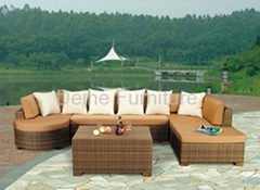 rattan furniture garden for outdoor
