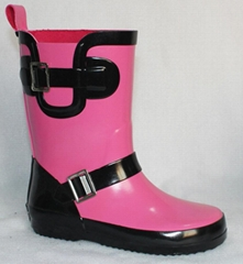 new style for girls fashion rain boots