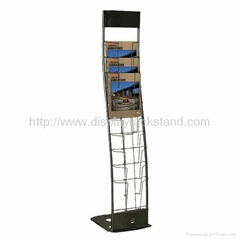 Curved Brochure Display Stand