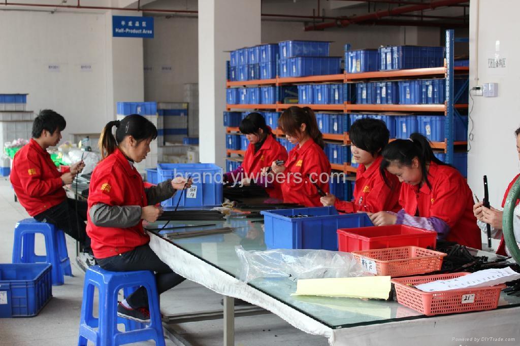 BAOYI soft frameless glass window wiper blades   4