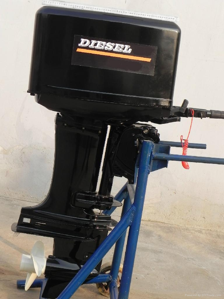 Hot Sale Marine Diesel Outboard Engine/40HP 4Stroke Outboard Motors 2