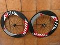 88mm Carbon Clincher Wheels Carbon