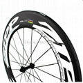 ZIPP 808 Carbon Wheels,700C Carbon Fiber Road Bike Clincher/Tubular Wheelset 3