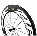 ZIPP 808 Carbon Wheels,700C Carbon Fiber Road Bike Clincher/Tubular Wheelset 3