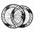 ZIPP 808 Carbon Wheels,700C Carbon Fiber Road Bike Clincher/Tubular Wheelset 1