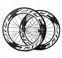 ZIPP 808 Carbon Wheels,700C Carbon Fiber Road Bike Clincher/Tubular Wheelset