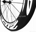 ZIPP 808 Carbon Wheels,700C Carbon Fiber Road Bike Clincher/Tubular Wheelset 2