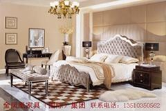 五星級酒店傢具定製高檔別墅傢具  金鳳凰傢具