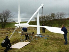 10kw pitch control wind turbine for home farm use