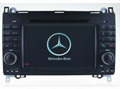 Benz A / B dvd Navigation Parrot BT gps player