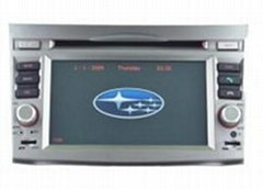Subaru Outback/ Legacy DVD navigation