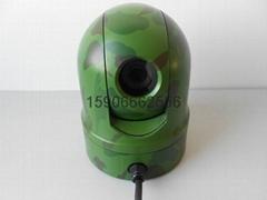 一体化智能车载球形摄像机